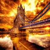 Fiery Sky...