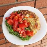 Truita de patates - Potato omelette