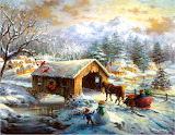 Over the Covered Bridge~ Nicky Boehmen
