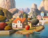 red apple village, E.Gordiets