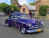 1949 Chevy Wedding Car
