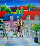 Dancing on the balcony - Iwona Lifsches