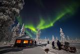 Northern lights, Rovaniemi Finland
