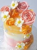 Pretty cake @ Starbird Bakehouse