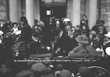 Andrew Carnegie Opening Orkney Library in September 1909