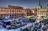 Mercato de la Plaza Mayor, Leon, Spain