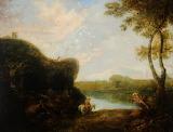 'Italianate Landscape' by R Wilson