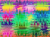 splashed colours