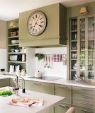 reloj en la cocina