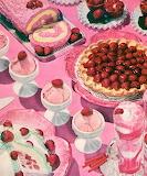 Pink 50s Food