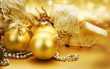 Golden-Christmas-ornaments