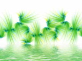 Fraktal Grün