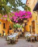 Chania old town taverna