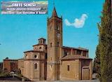 Abbazia di Monte Oliveto Maggiore Siena - decenni fa