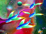 colorful fish painting