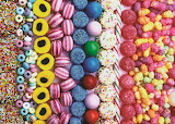 Candy all in a Row