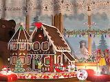 Natale-casa di cioccolato