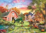 Autumn Farm - Dominic Davison
