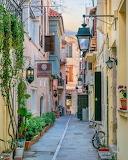 Crete, Rethymnon, old town