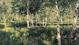"""Isaac Levitan """"Birch grove"""""""