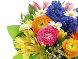^ Colorful Spring Bouquet