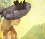 Aristide Maillol, Mlle Farail au chapeau, 1890