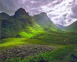 Clearing storm glencoe scotland