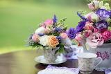 Teaflower garden cup