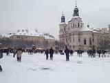 Prague, Snow, CZ