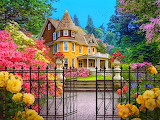 Victorian in spring