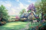Perfect Summer - Thomas Kinkade