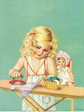 Child Ironing