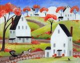 Autumn horse and buggy Elaine Cox