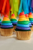 Green Velvet Cupcakes Enlarged