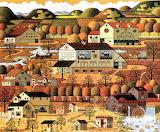 Amish Autumn - Charles Wysocki