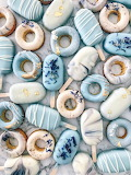 Blue Dougnuts and Popsicles