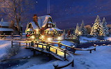^ Bridge to the Christmas cottage