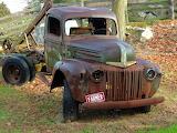 Arizona Farmer Rusted Ford Truck