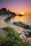 sunset-La Costa Brava,Cala Belladona