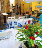 Rethymnon taverna in old town