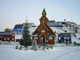 The Church in Paamiut, Greenland