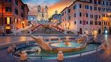 Rome Spanish stairs
