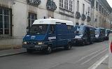 Gendarmerie mobile à Dijon