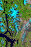 "Space tumblr NASA ""Ice Fields of Patagonia"" ""Landsat 8"""