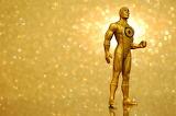 Favorite yellow comics fun toy actionfigure gold robot-