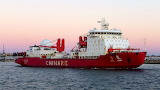 Xue Long, Chinese Icebreaker in Fremantle
