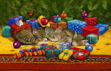 ^ Christmas kittens