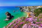 Coast of Cornwall, England, landscape