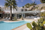 Pretty white Greek villa, pool and terrace