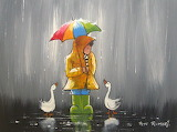 ^ Enjoying the rain together ~ Pete Rumney